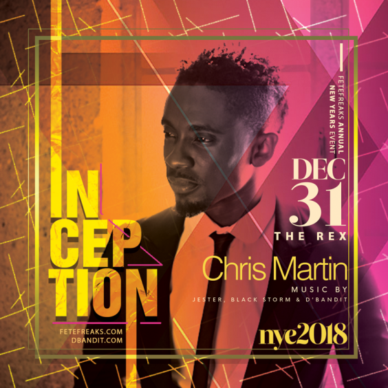 Inception 2018 feat Christopher Martin