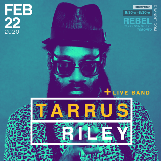 Tarrus Riley in Concert with his Full Band Blacksoil