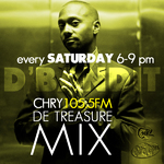 DE TREASURE MIX JUNE 16 2012 - reggae, dancehall, mixtape, podcast, soca